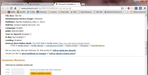 TLFL Amazon Top 100